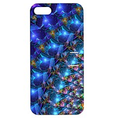 Blue Sunrise Fractal Apple Iphone 5 Hardshell Case With Stand by KirstenStar