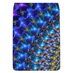 Blue Sunrise Fractal Removable Flap Cover (l) by KirstenStar