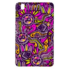 Purple Tribal Abstract Fish Samsung Galaxy Tab Pro 8 4 Hardshell Case by KirstenStar