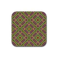 Multicolor Geometric Ethnic Seamless Pattern Drink Coasters 4 Pack (square) by dflcprints