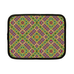 Multicolor Geometric Ethnic Seamless Pattern Netbook Sleeve (small) by dflcprints