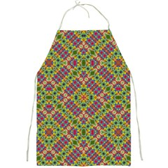 Multicolor Geometric Ethnic Seamless Pattern Apron by dflcprints