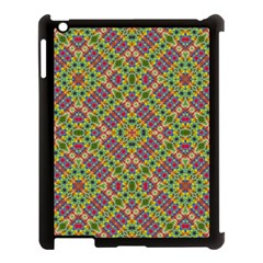Multicolor Geometric Ethnic Seamless Pattern Apple Ipad 3/4 Case (black) by dflcprints