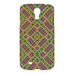 Multicolor Geometric Ethnic Seamless Pattern Samsung Galaxy S4 I9500/i9505 Hardshell Case by dflcprints