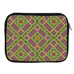 Multicolor Geometric Ethnic Seamless Pattern Apple Ipad Zippered Sleeve by dflcprints