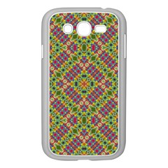 Multicolor Geometric Ethnic Seamless Pattern Samsung Galaxy Grand Duos I9082 Case (white) by dflcprints