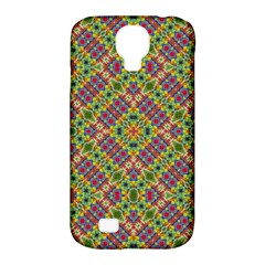 Multicolor Geometric Ethnic Seamless Pattern Samsung Galaxy S4 Classic Hardshell Case (pc+silicone) by dflcprints