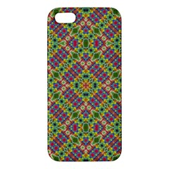 Multicolor Geometric Ethnic Seamless Pattern Iphone 5s Premium Hardshell Case by dflcprints