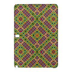 Multicolor Geometric Ethnic Seamless Pattern Samsung Galaxy Tab Pro 12 2 Hardshell Case by dflcprints