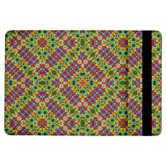 Multicolor Geometric Ethnic Seamless Pattern Apple iPad Air Flip Case by dflcprints