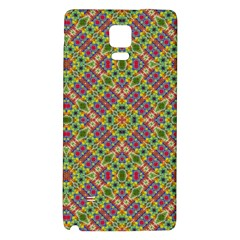 Multicolor Geometric Ethnic Seamless Pattern Samsung Note 4 Hardshell Back Case by dflcprints