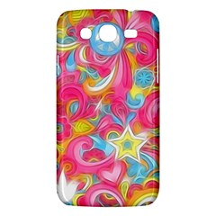Hippy Peace Swirls Samsung Galaxy Mega 5 8 I9152 Hardshell Case  by KirstenStar