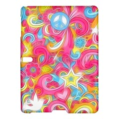 Hippy Peace Swirls Samsung Galaxy Tab S (10 5 ) Hardshell Case  by KirstenStar