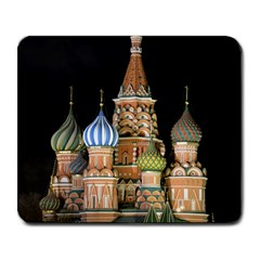 Saint Basil s Cathedral  Large Mouse Pad (rectangle) by anstey