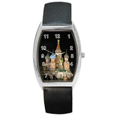 Saint Basil s Cathedral  Tonneau Leather Watch by anstey