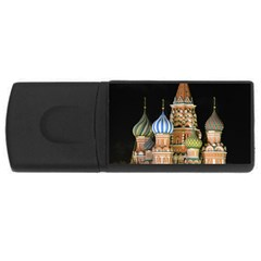 Saint Basil s Cathedral  4gb Usb Flash Drive (rectangle) by anstey