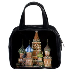 Saint Basil s Cathedral  Classic Handbag (two Sides) by anstey