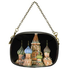 Saint Basil s Cathedral  Chain Purse (one Side) by anstey