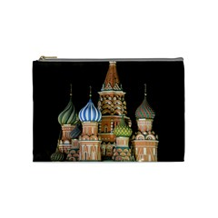 Saint Basil s Cathedral  Cosmetic Bag (medium) by anstey