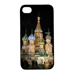 Saint Basil s Cathedral  Apple Iphone 4/4s Hardshell Case With Stand by anstey