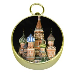 Saint Basil s Cathedral  Gold Compass by anstey