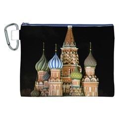 Saint Basil s Cathedral  Canvas Cosmetic Bag (xxl) by anstey