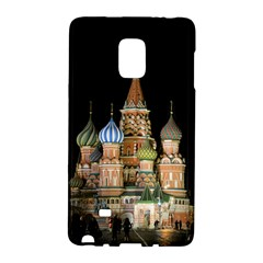Saint Basil s Cathedral  Samsung Galaxy Note Edge Hardshell Case by anstey