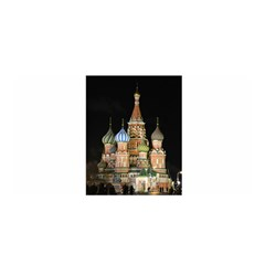 Saint Basil s Cathedral  Satin Wrap by anstey