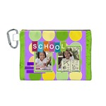 school - Canvas Cosmetic Bag (Medium)