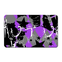 Purple Scene Kid Magnet (rectangular) by ArtistRoseanneJones