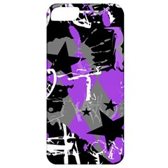 Purple Scene Kid Apple Iphone 5 Classic Hardshell Case by ArtistRoseanneJones