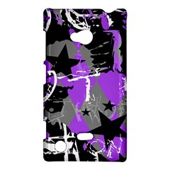 Purple Scene Kid Nokia Lumia 720 Hardshell Case by ArtistRoseanneJones
