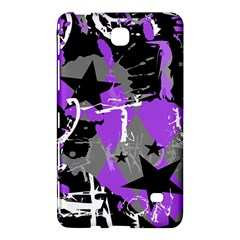 Purple Scene Kid Samsung Galaxy Tab 4 (7 ) Hardshell Case  by ArtistRoseanneJones