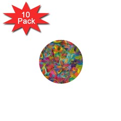 Colorful Autumn 1  Mini Button (10 Pack) by KirstenStar