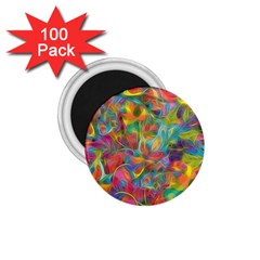 Colorful Autumn 1 75  Button Magnet (100 Pack) by KirstenStar