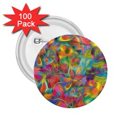 Colorful Autumn 2 25  Button (100 Pack) by KirstenStar