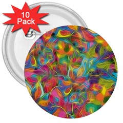 Colorful Autumn 3  Button (10 pack) by KirstenStar