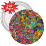 Colorful Autumn 3  Button (100 pack)