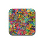 Colorful Autumn Drink Coaster (Square)