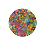 Colorful Autumn Drink Coaster (Round)