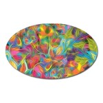 Colorful Autumn Magnet (Oval)