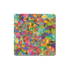 Colorful Autumn Magnet (square) by KirstenStar