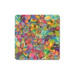 Colorful Autumn Magnet (Square)
