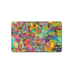 Colorful Autumn Magnet (name Card) by KirstenStar