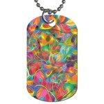 Colorful Autumn Dog Tag (One Sided)