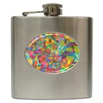 Colorful Autumn Hip Flask