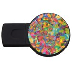 Colorful Autumn 2GB USB Flash Drive (Round)
