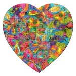 Colorful Autumn Jigsaw Puzzle (Heart)