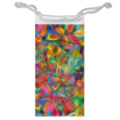 Colorful Autumn Jewelry Bag by KirstenStar