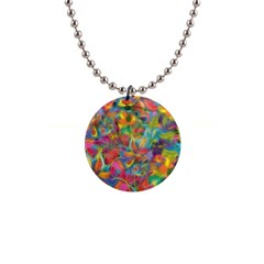 Colorful Autumn Button Necklace by KirstenStar